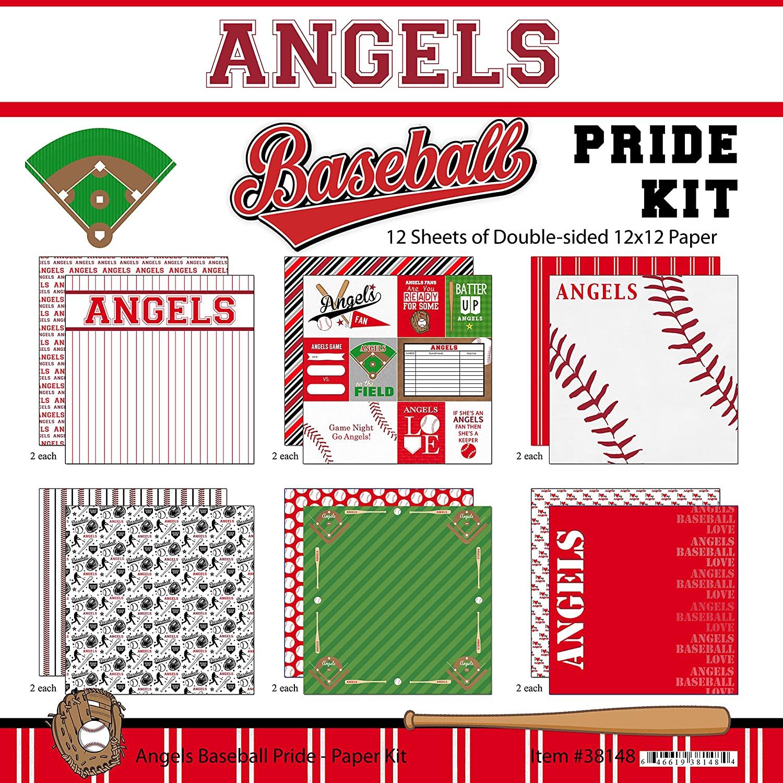 Scrapbook Customs Angels Pride Baseball Scrapbook Kit