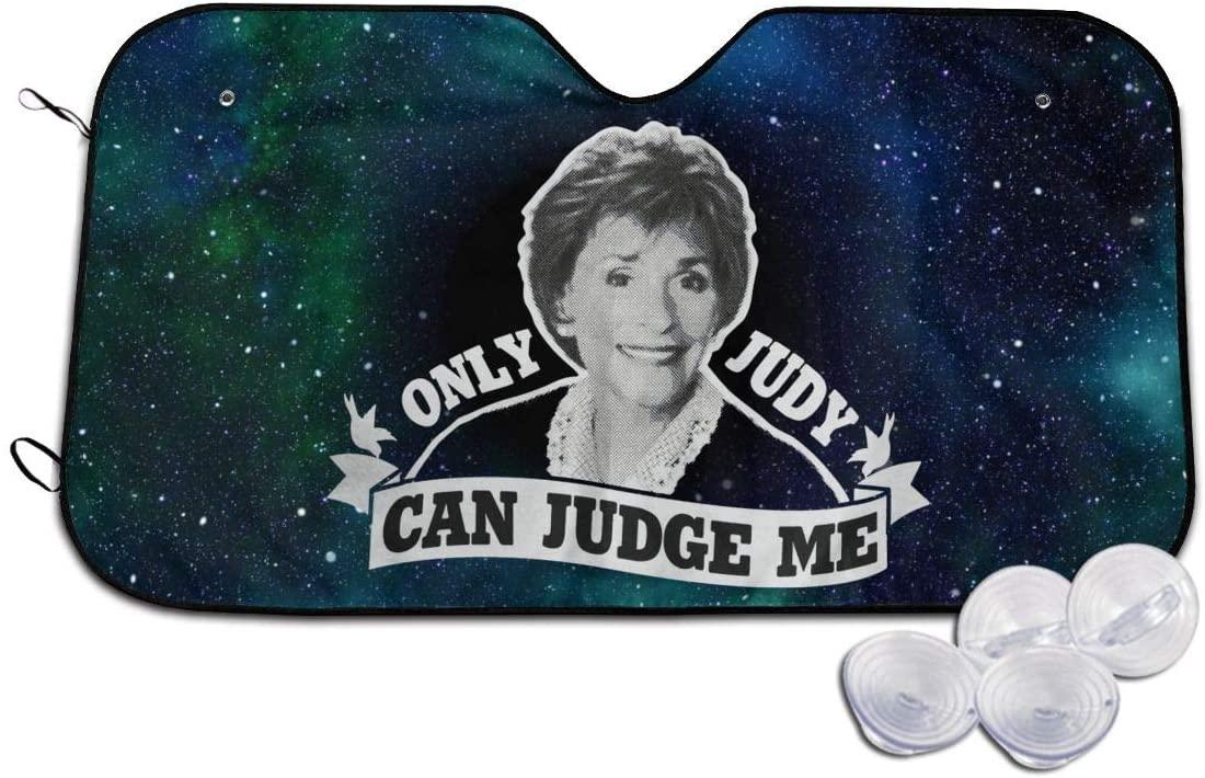 Kemeicle Only Judy Can Judge Me 2 Car Sunshades Visor Cover Sun Shades Shield