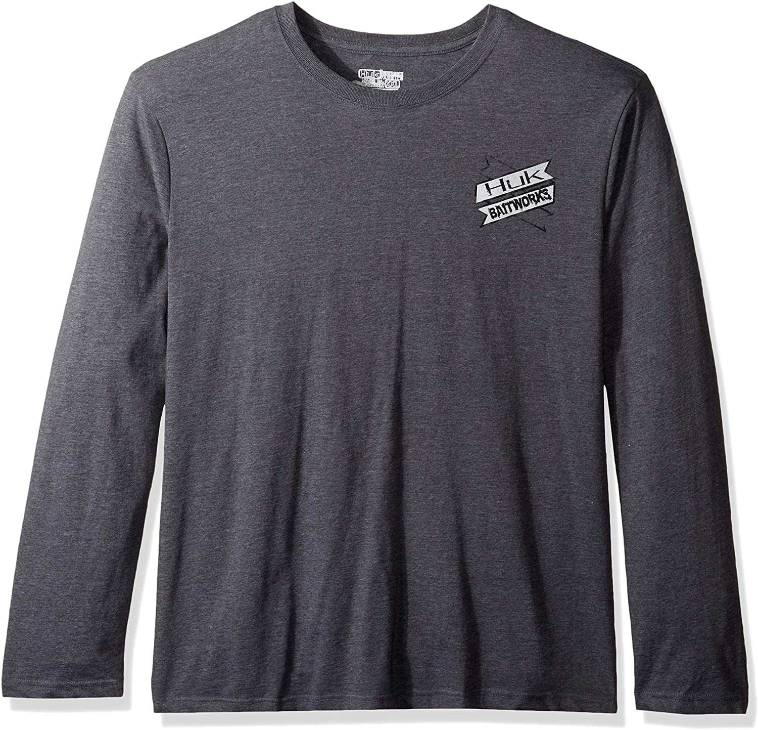 HUK Mens Kc Scott Bait Co Long Sleeve