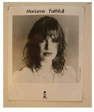 Marianne Faithfull Press Kit and Photo Faithless