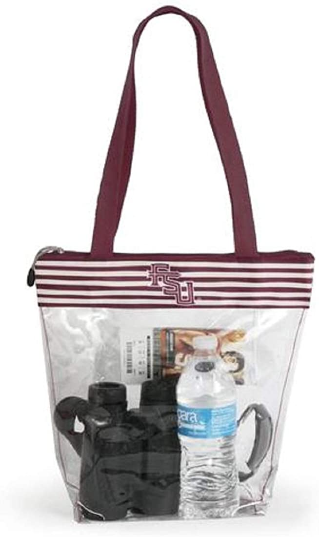 Desden Florida State Clear Gameday Stadium Tote Bag