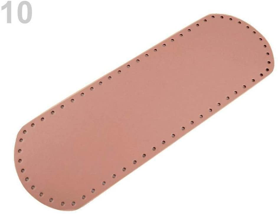 1pc 10 Vintage Pink Handbag Bottom Shaper 12x36 cm, Hardware, Purse Making Supplies, Haberdashery