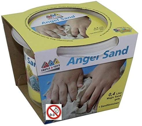 Triple A Yellow Fishing Sand Toys Sand Toys A 20064