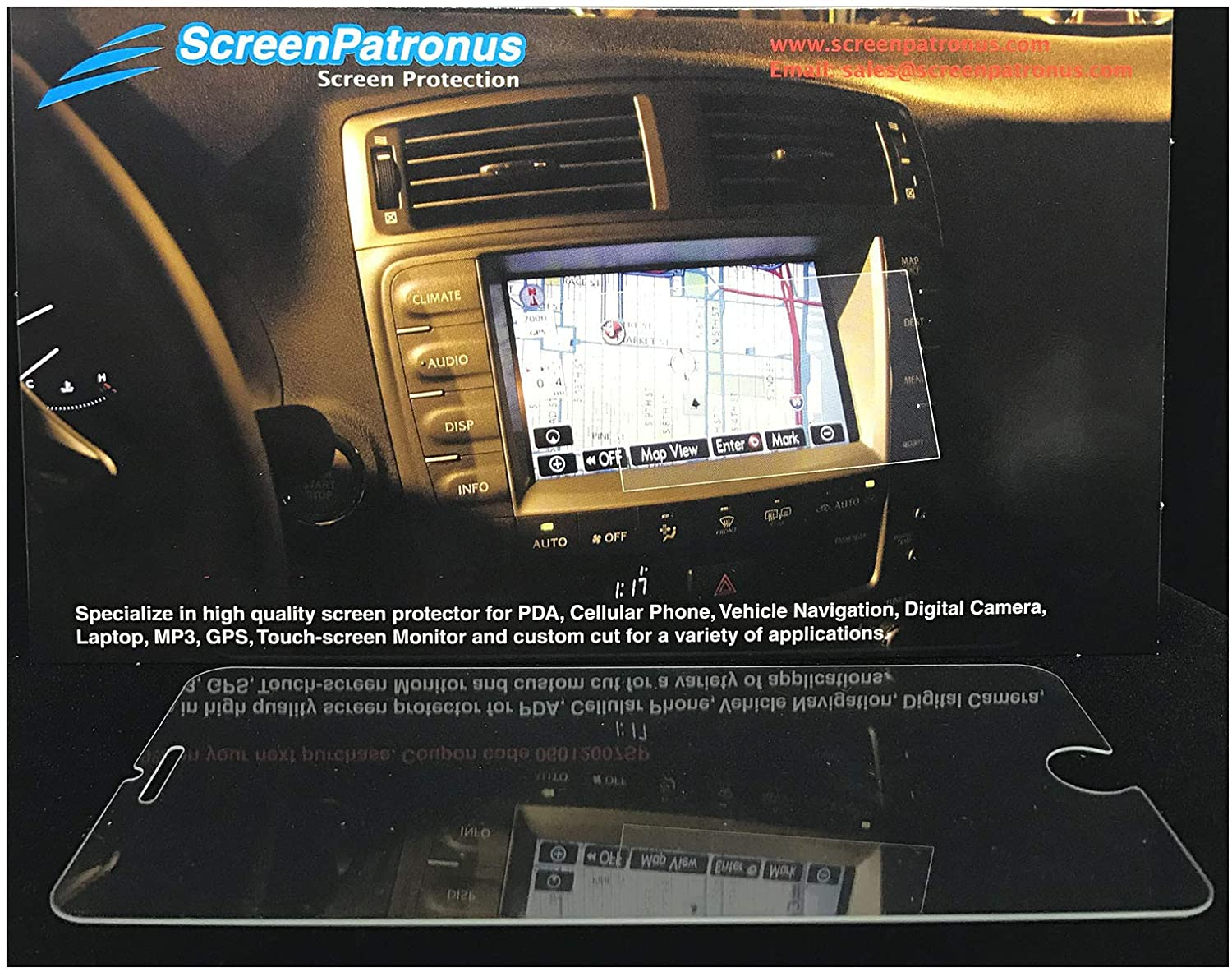 ScreenPatronus - Compatible with RCA RocBox MP3 Crystal Clear Screen Protector (Lifetime Replacement Warranty)