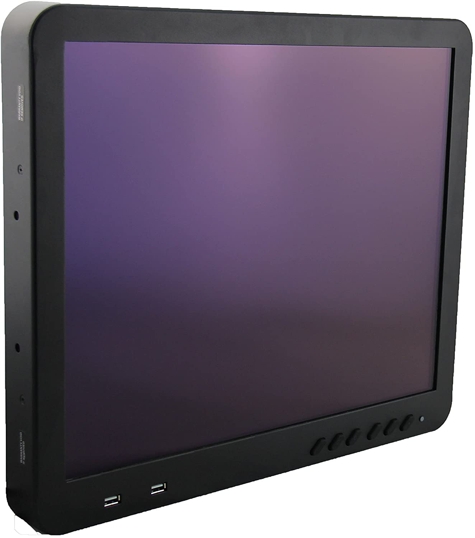 Inelmatic CF1900 19-Inch Waterproof IP65 Sunlight Readable Resistive Touchscreen Flat Panel Monitor