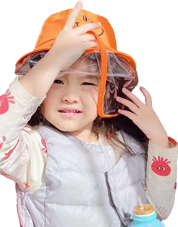 Dustproof Sun Hat Cotton Visor Kids Boys Girl Hat Summer Anti UV for 0-5 Years Old