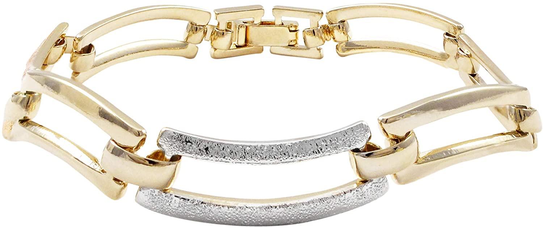 GRACE HARPER Tri-color Wave Women's Bracelet, 7