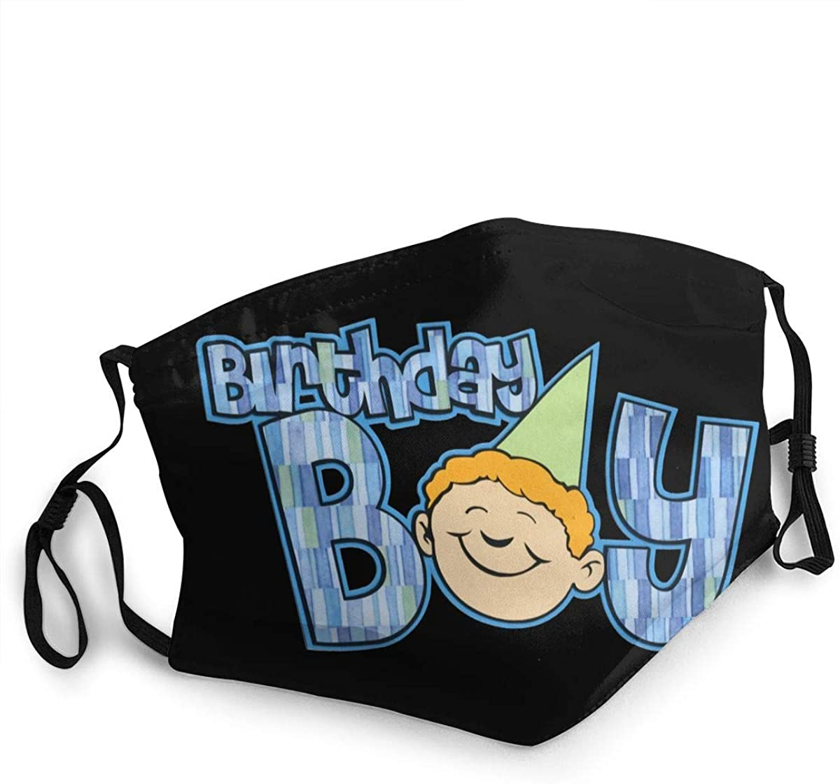 Birthday Washable Reusable Unisex Breathable Adult Dust Face Mouth Cloth Balaclava (Multiple Outfits)