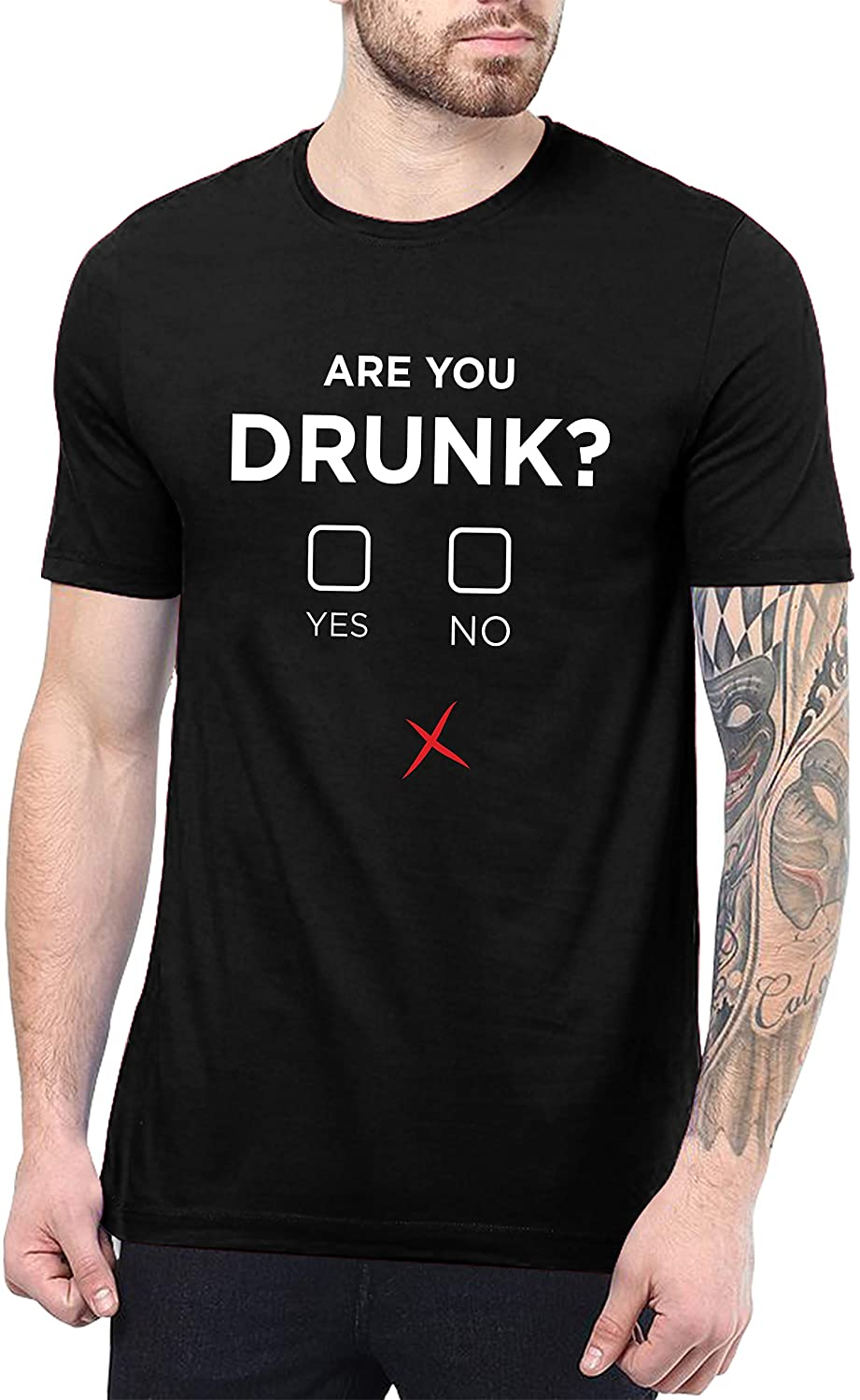 Funny T Shirts for Men - are You Drunk Graphic Tees for Men