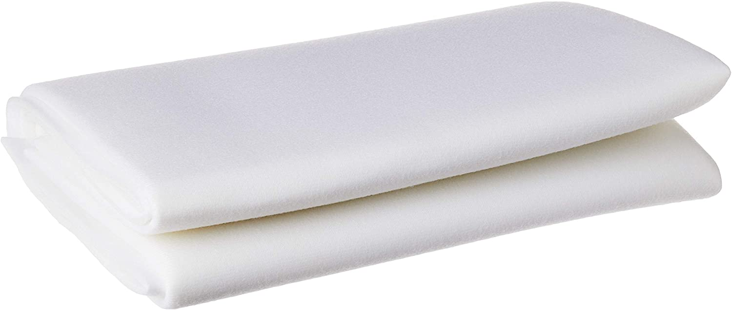 ByAnnies Soft and Stable Fabric, 36 by 58-Inch, White