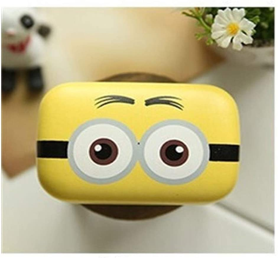 QYER Elegant Contact Lens Case, Mini Cartoon Eye Lens Case, Leather Contact Lens Travel Case for Hard Cute Glasses Case Lens Case Gift Personality (Size : Binocular Number Two)