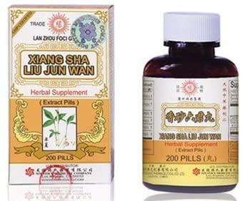 Xiang Sha Liu Jun Wan Herbal Supplements from Solstice Medicine Company 200 Pill Bottle