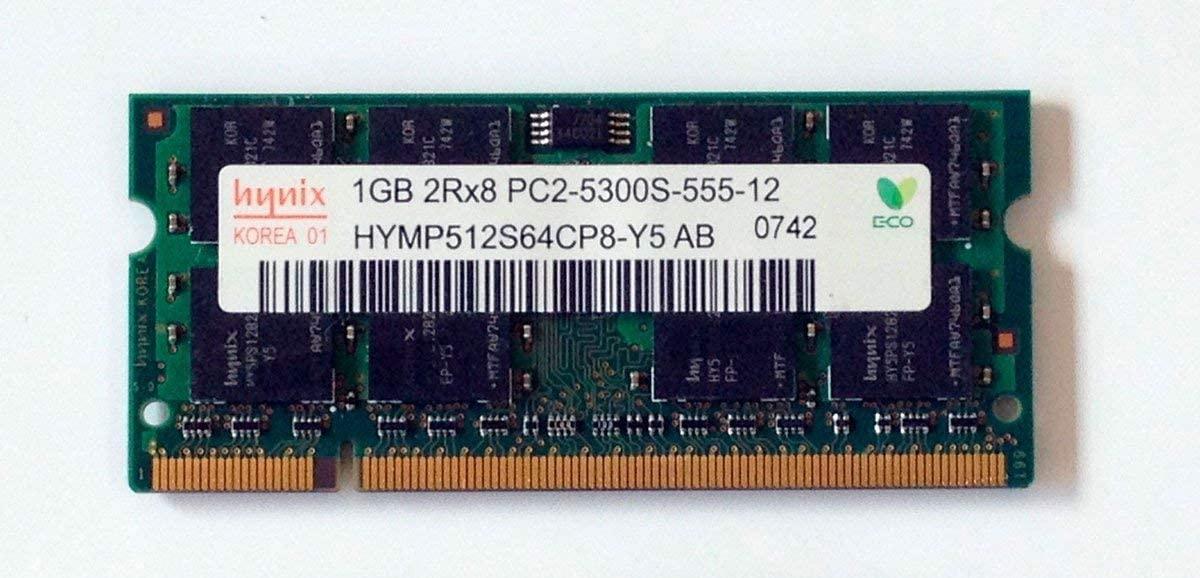 HYMP512S64CP8-Y5-AB Hynix 1gb Ddr2 667mhz Pc2-5300 200pin Cl-5 Non-Ec