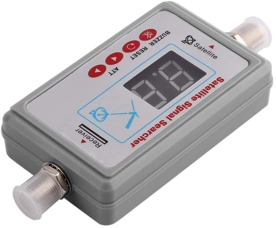 Pandamama Mini Portable Digital Antenna Satellite Signal Finder LCD Buzzer JS-SF05 TV Satellite Receiver Meter TV Signal Detector Tool