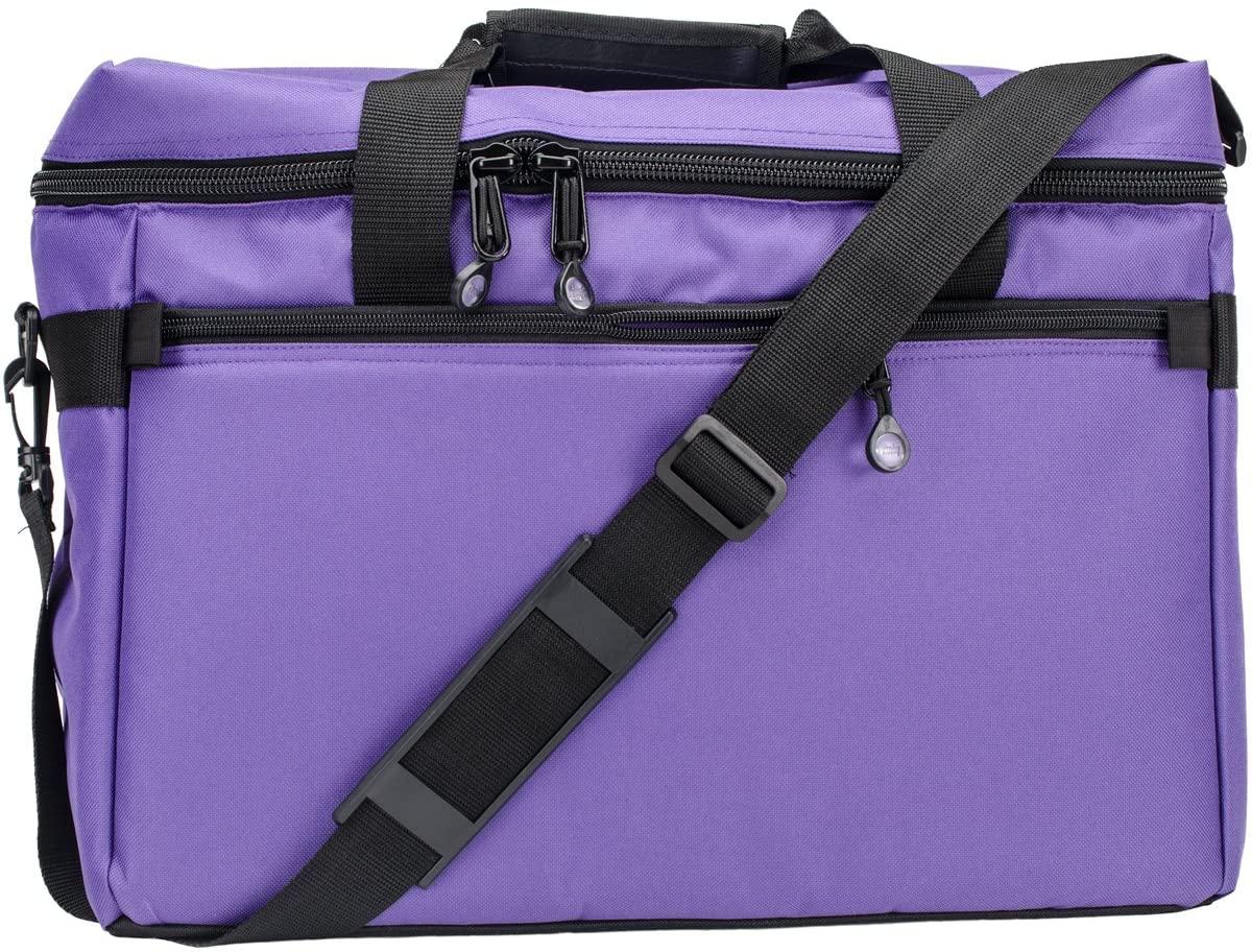 Sewing Machine/Project Bag 17x13x7-Purple