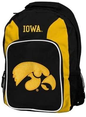 The Northwest Company Iowa Hawkeyes Backpack Southpaw Style Yellow