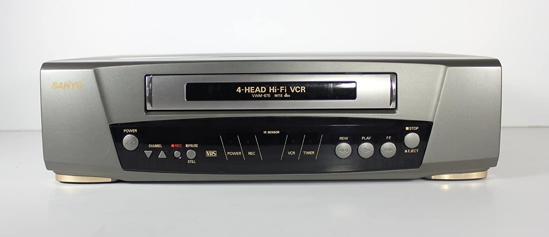 Sanyo VWM-675 VCR HI-Fi Stereo Video Cassette Recorder