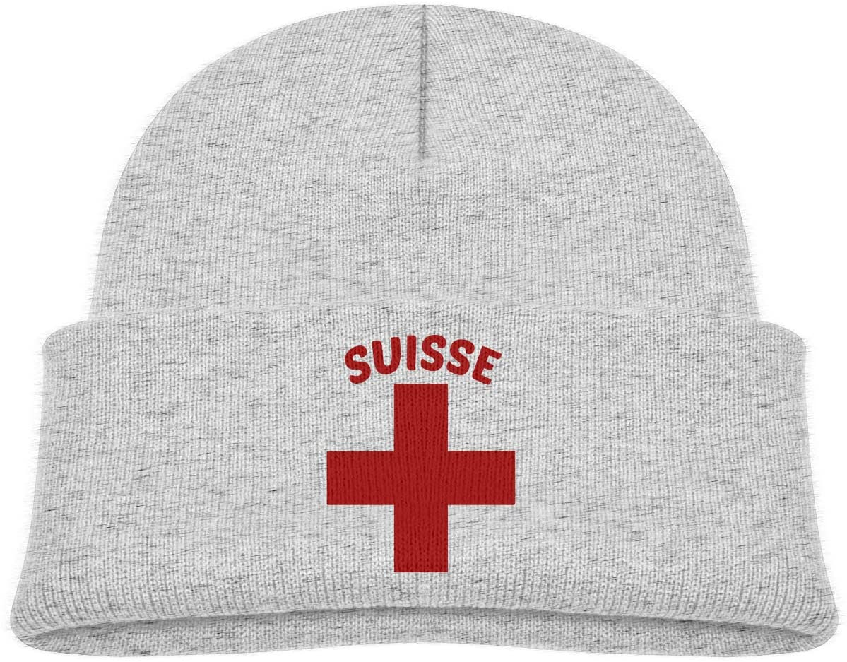 Swiss Pride A Cute and Thick Stretch Cap Suitable for Children's Winter Warm Baby Cap