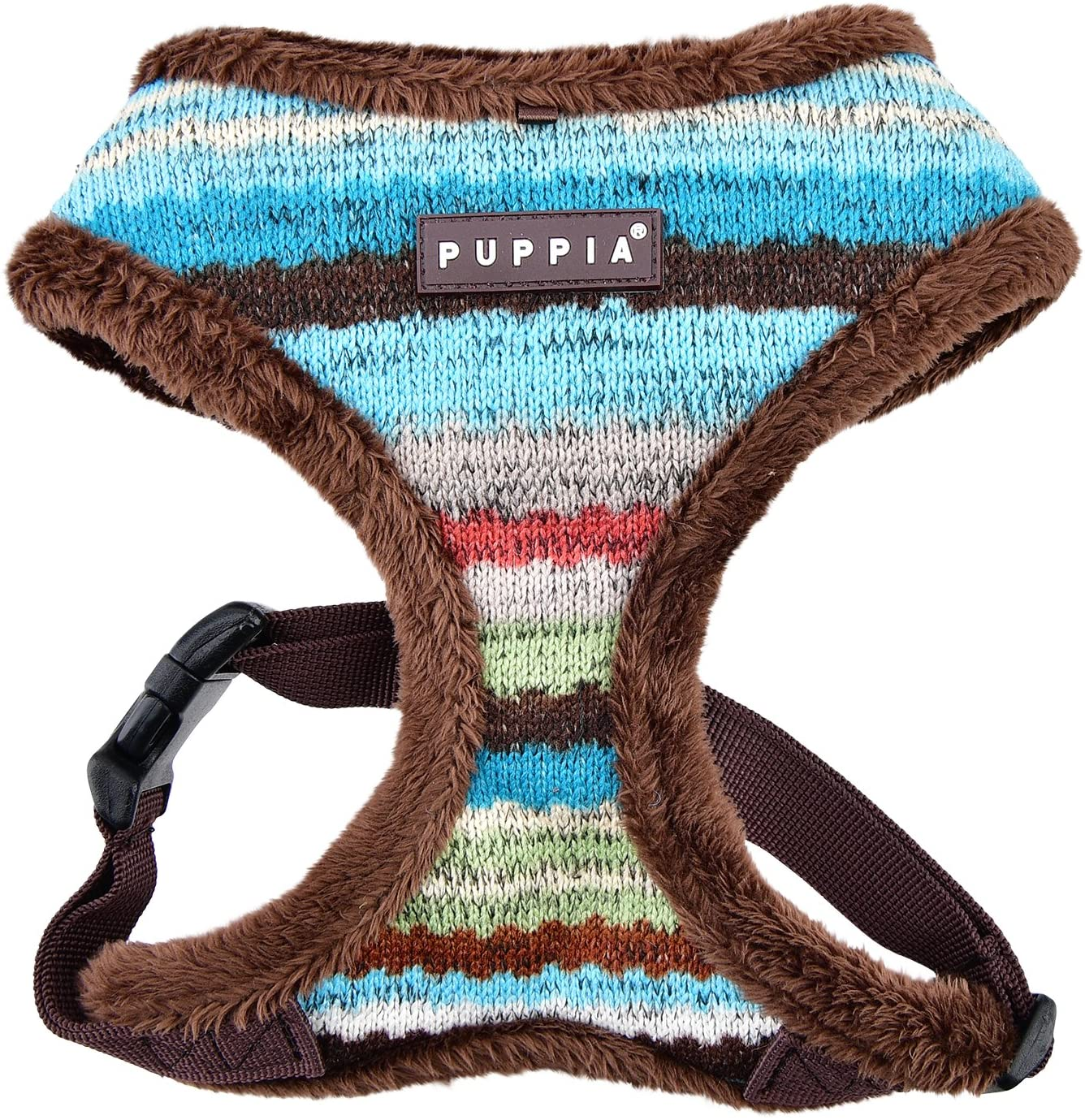 Puppia Crayon Harness A, X-Large, Brown