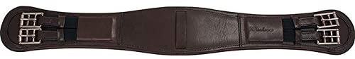 Toulouse Padded Leather Dressage/Monoflap Girth