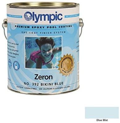 Kelley Technical Coating 395-GL Olympic Zeron Zeron One Coat Epoxy Gallon44; Blue Mist