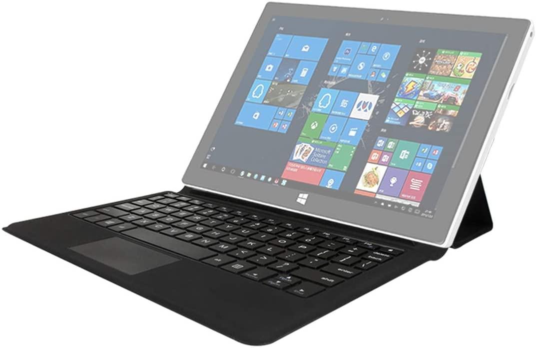 LUOKANGFAN LLKKFF Detachable Tablet Bluetooth Keyboard Tablet PC Magnetic Keyboard for Jumper EZpad 7s(Black) Used for Tablet PC (Color : Black)