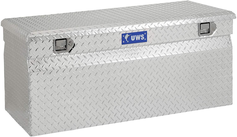 UWS EC20241 48-Inch Heavy-Wall Aluminum Truck Storage Box, RigidCore Lid