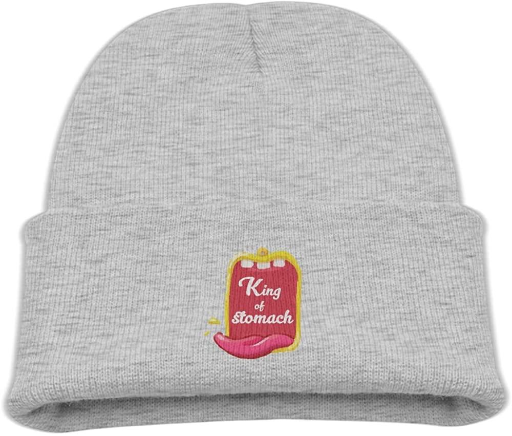 ZWZ Cartoon Eat Kid's Hats Winter Funny Soft Knit Beanie Cap, Unisex