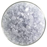 Fuse It! 1 Lb Bullseye Coarse Transparent Frit - 90 Coe - Gray Blue Tint By Stallings Stained Glass