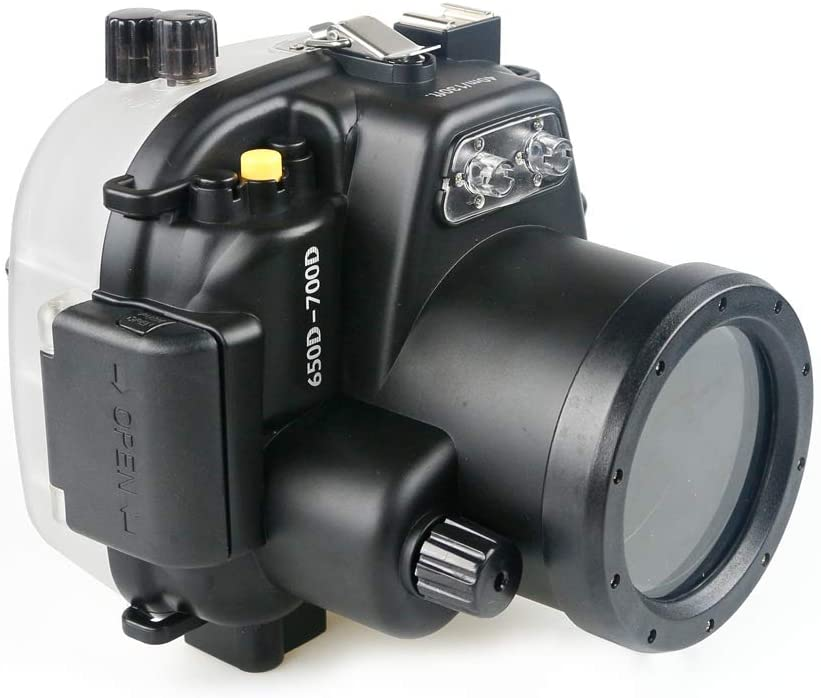 Seafrogs Waterproof Case Professional Diving Photography Underwater 40m Depth Camera Housing for 650D-700D