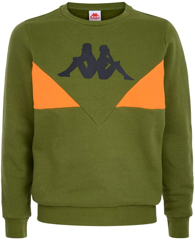Kappa Authentic 90 Brum Green Sweatshirt for Men 304RM30-975