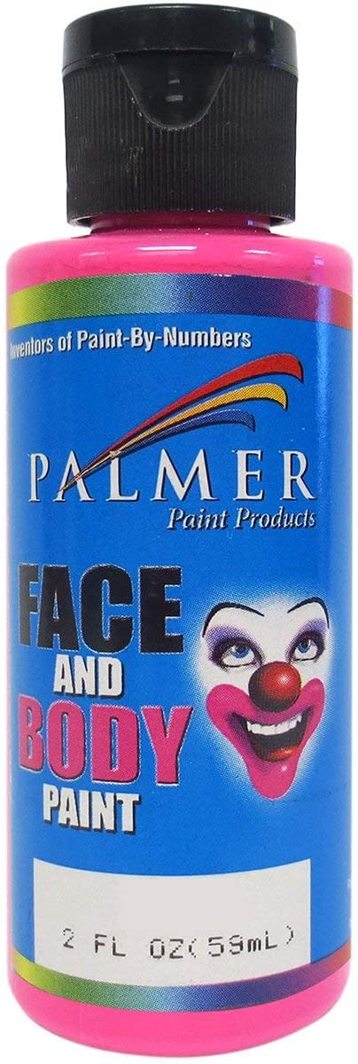 Palmer 56006-36 Face & Body Paint, 2 oz, Pink