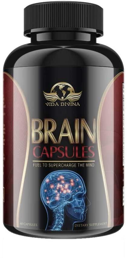 Brain Capsules,Dr Esthers formulated Vidadivians Popular Brain function capsules 60 count