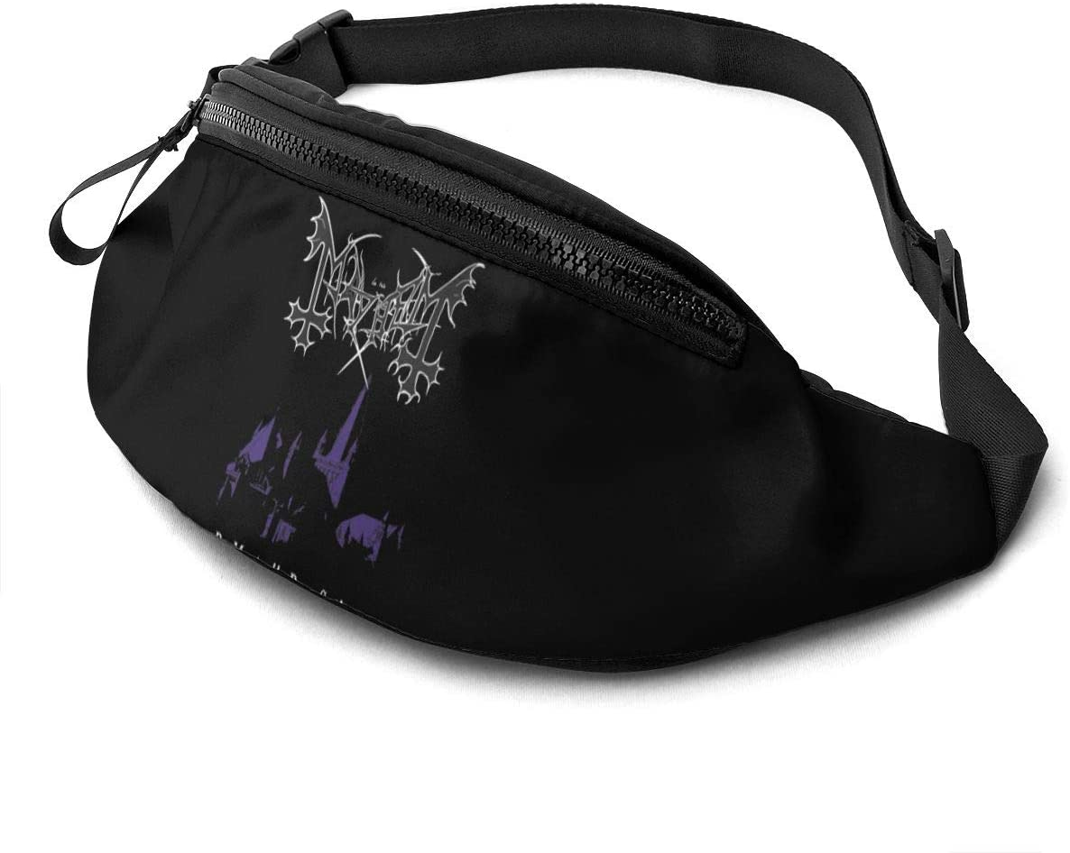 Liuqidong Mayhem Waist Pack Bag Fanny Pack for Men&Women Hip Bum Bag with Adjustable Strap for Outdoors Workout Traveling Casual Running Hiking Cycling