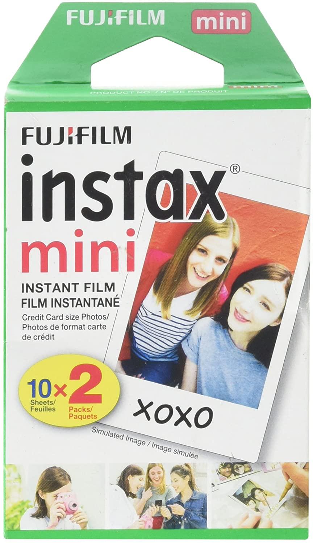 Fujifilm Instax Mini Photo Camera Film Pack