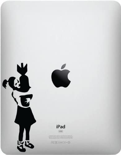 Yadda-Yadda Design Co. The Bomb Girl for iPad - Vinyl Decal