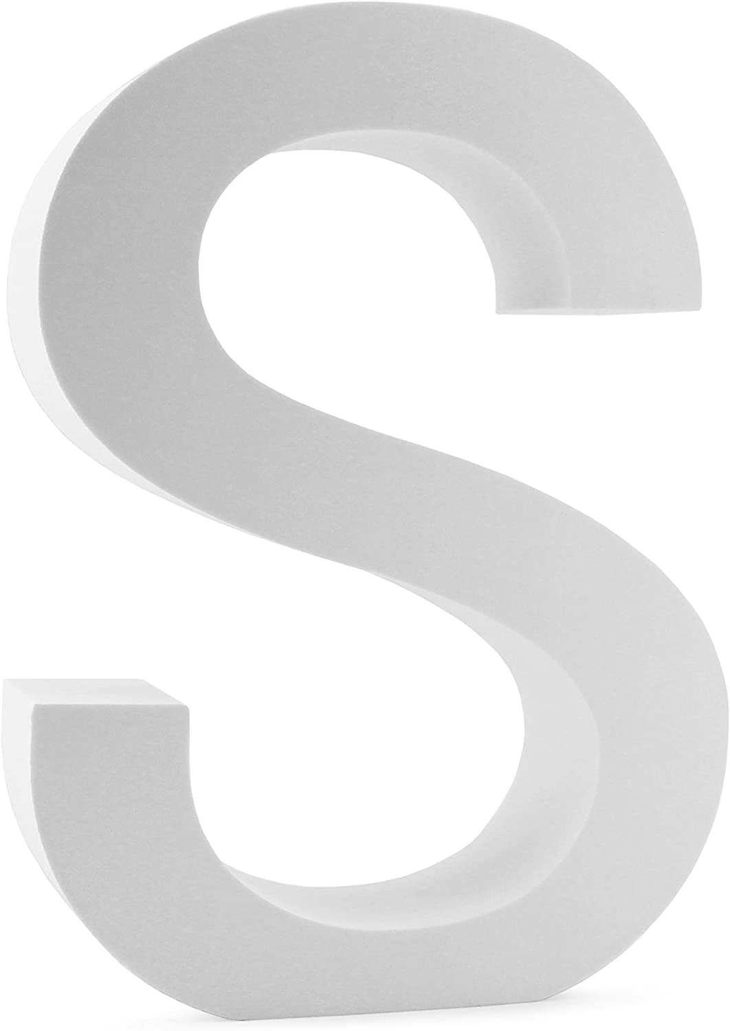 Cornucopia 12-Inch EVA Foam Letter S for Events, Parties, Weddings and Businesses