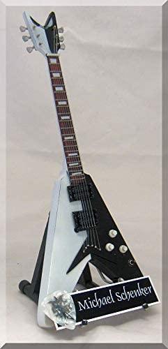 MICHAEL SCHENKER Miniature Guitar Scorpion w/Guitar Pick