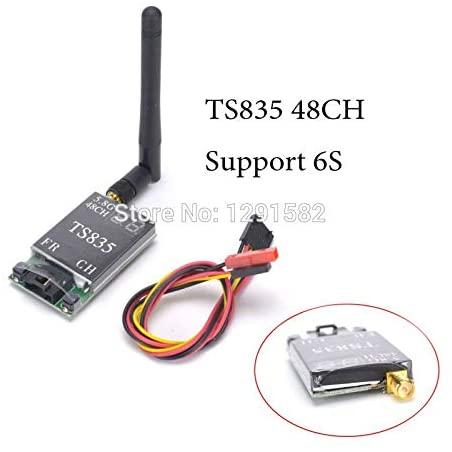 Vehicles-OCS TS835 FPV 5.8G 600MW 48CH 2-6S Wireless AV Transmitter Better Than TS832