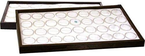 72 Gem Jars Insert & 2 Travel Display Trays