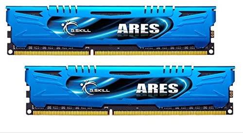 G.Skill Ares Series F3-1866C9D-8GAB 8GB (2 x 4GB) 240-Pin DDR3 SDRAM 1866 (PC3 14900) Desktop Memory