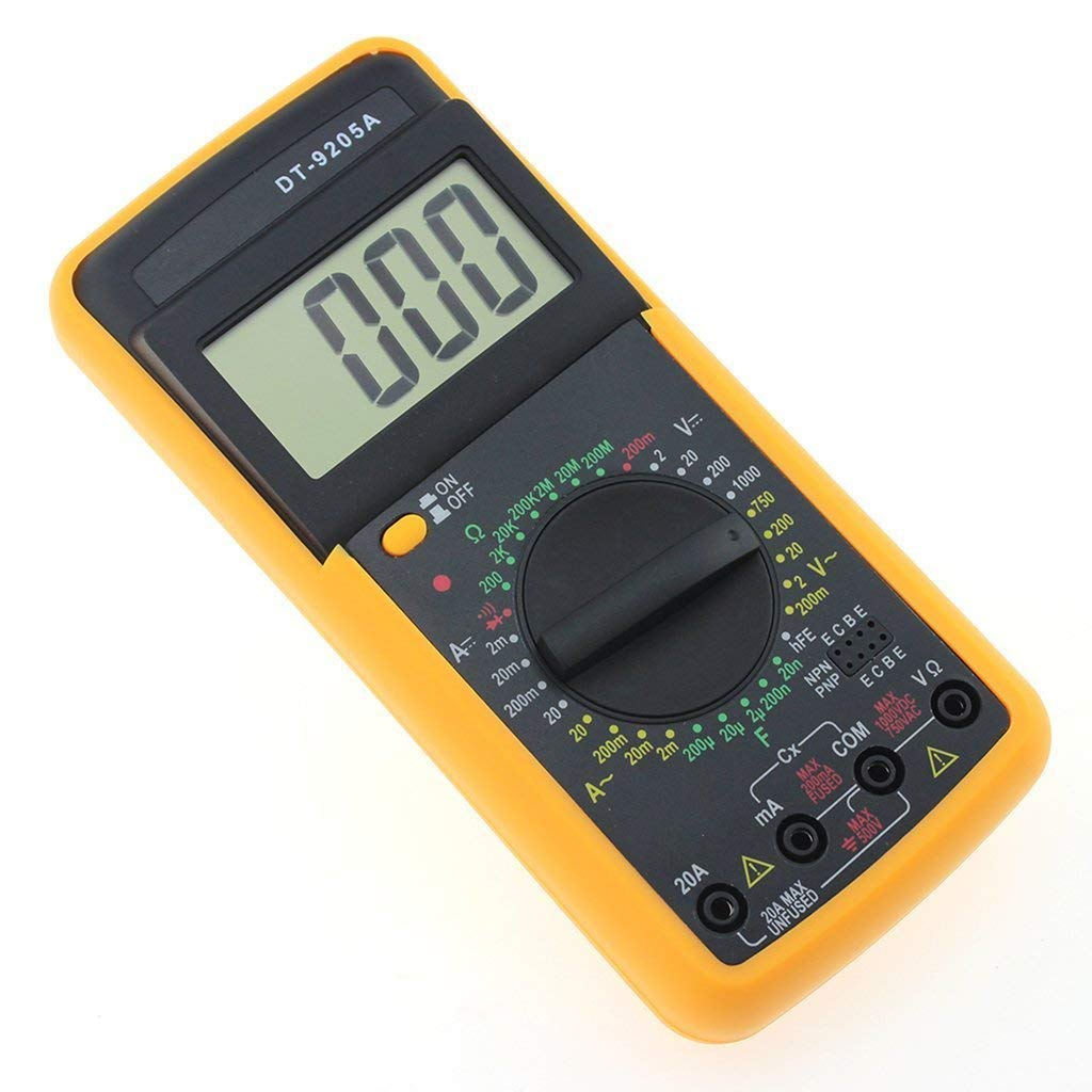 PGSA2Z Digital Multimeter Capacitance Multi Meter with Probes