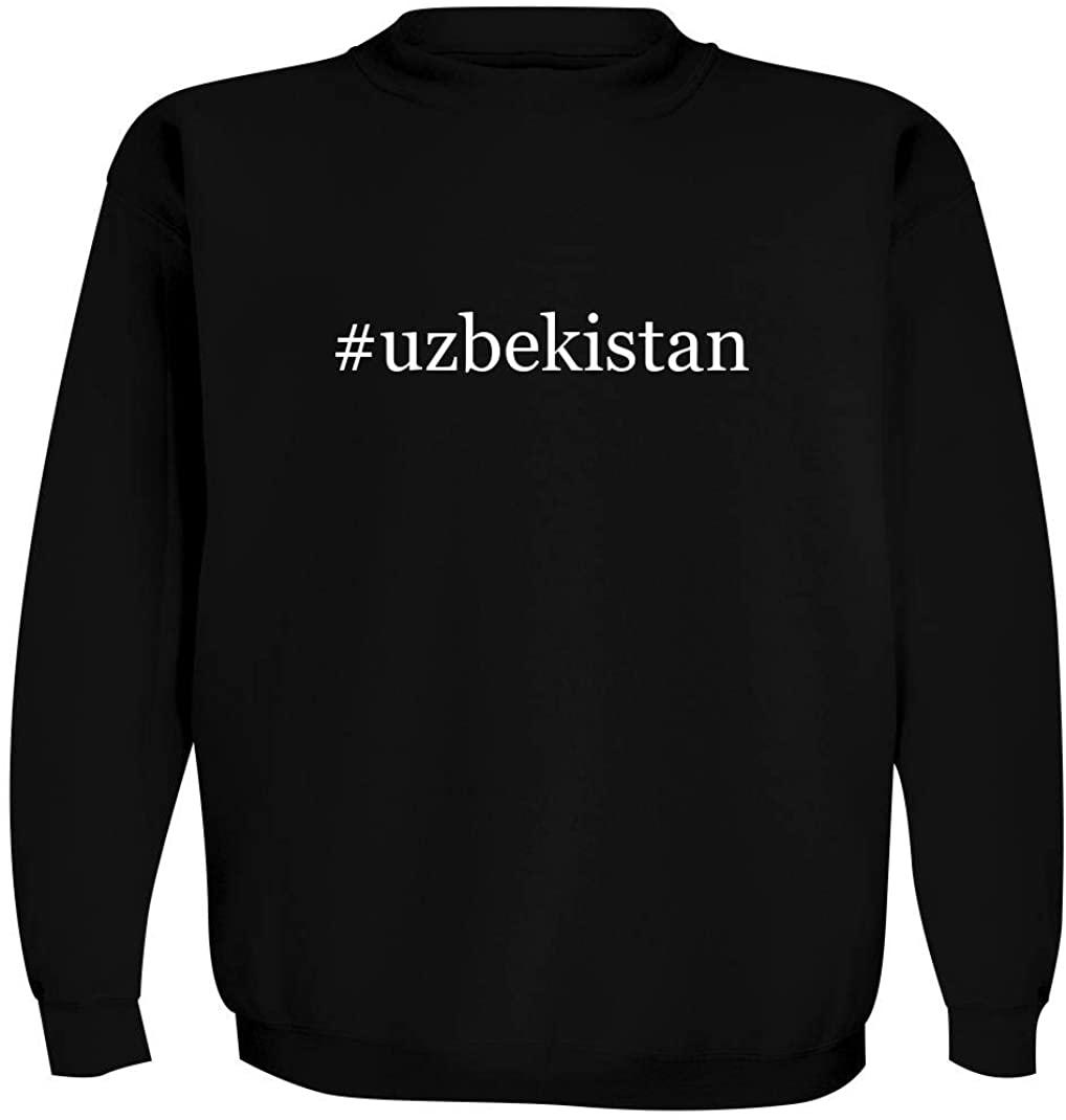 #uzbekistan - Men's Hashtag Crewneck Sweatshirt