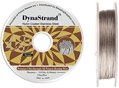 Dynastrand Beading Wire 49-Strand Ultra-Flex 0.019-inch Diameter