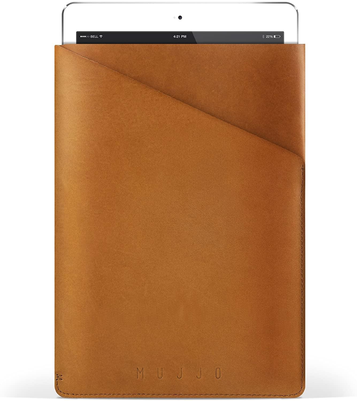 Mujjo Slim Fit Sleeve for iPad Air - Tan