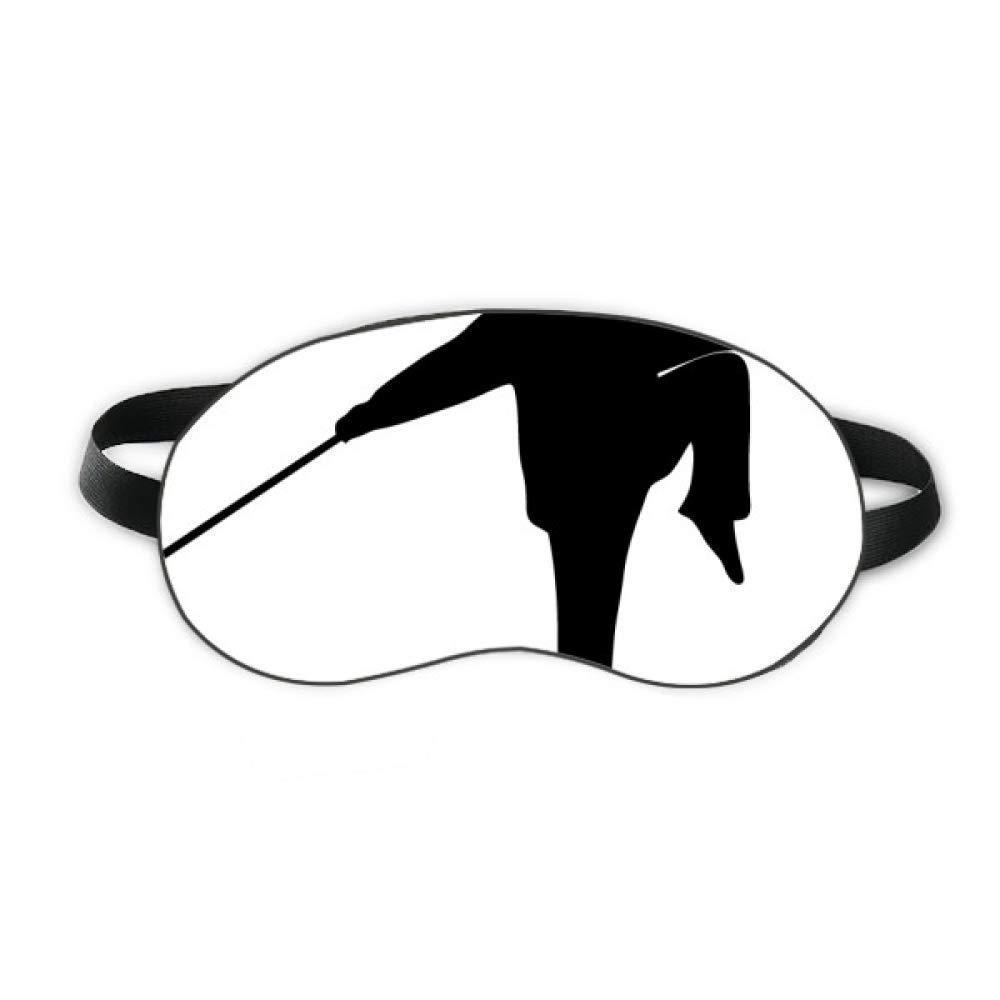 Kung Fu Chinese Shaolin Stick Martial Art Sleep Eye Shield Soft Night Blindfold Shade Cover