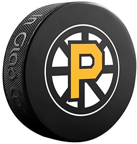 Inglasco AHL Providence Bruins Souvenir Pucksouvenir Puck, Black, One Size