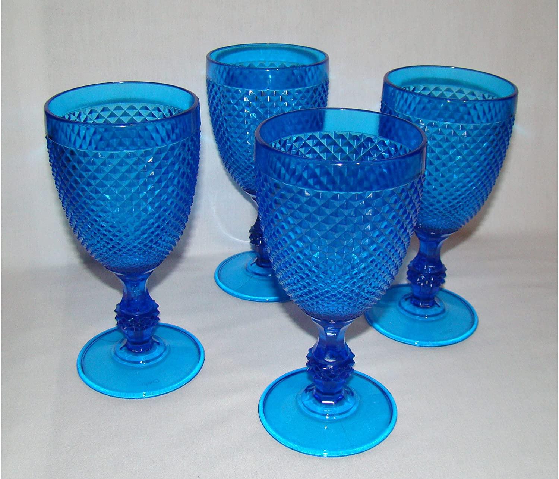 Avon Faceted Goblets Set