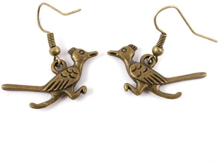 60 Pairs Jewelry Making Charms Supply Supplies Wholesale Fashion Earring Backs Findings Ear Hooks J3XV1 Bird