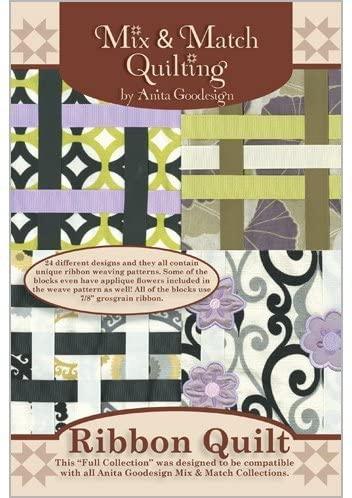 Anita Goodesign Embroidery Machine Designs CD RIBBON QUILT